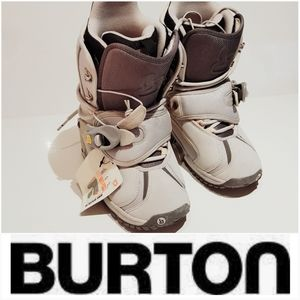NWT BURTON RULER GRAY STEP IN SNOWBOARD BOOTS